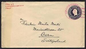 Ee. Uu. 1915 Arándano Islas, Maine Población Menos Que 150 Completo Tinta Color
