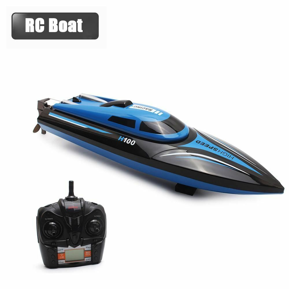 High High High Speed RC Boat H100 2.4GHz 4 Channel 30km h Racing Remote Control Boat with 2ef5ce