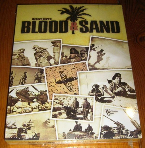 NEW, Blood & Sand, by Worthington; Vol 2 of Bitter Victory game series; sealed