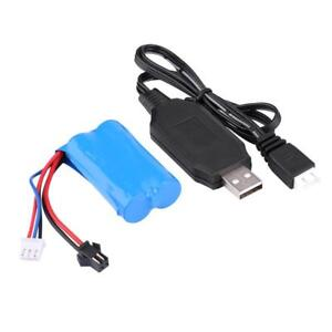 7-4V-500mAh-Rechargeable-Battery-USB-Cable-for-WPL-Crawler-Military-RC-Car-Kit