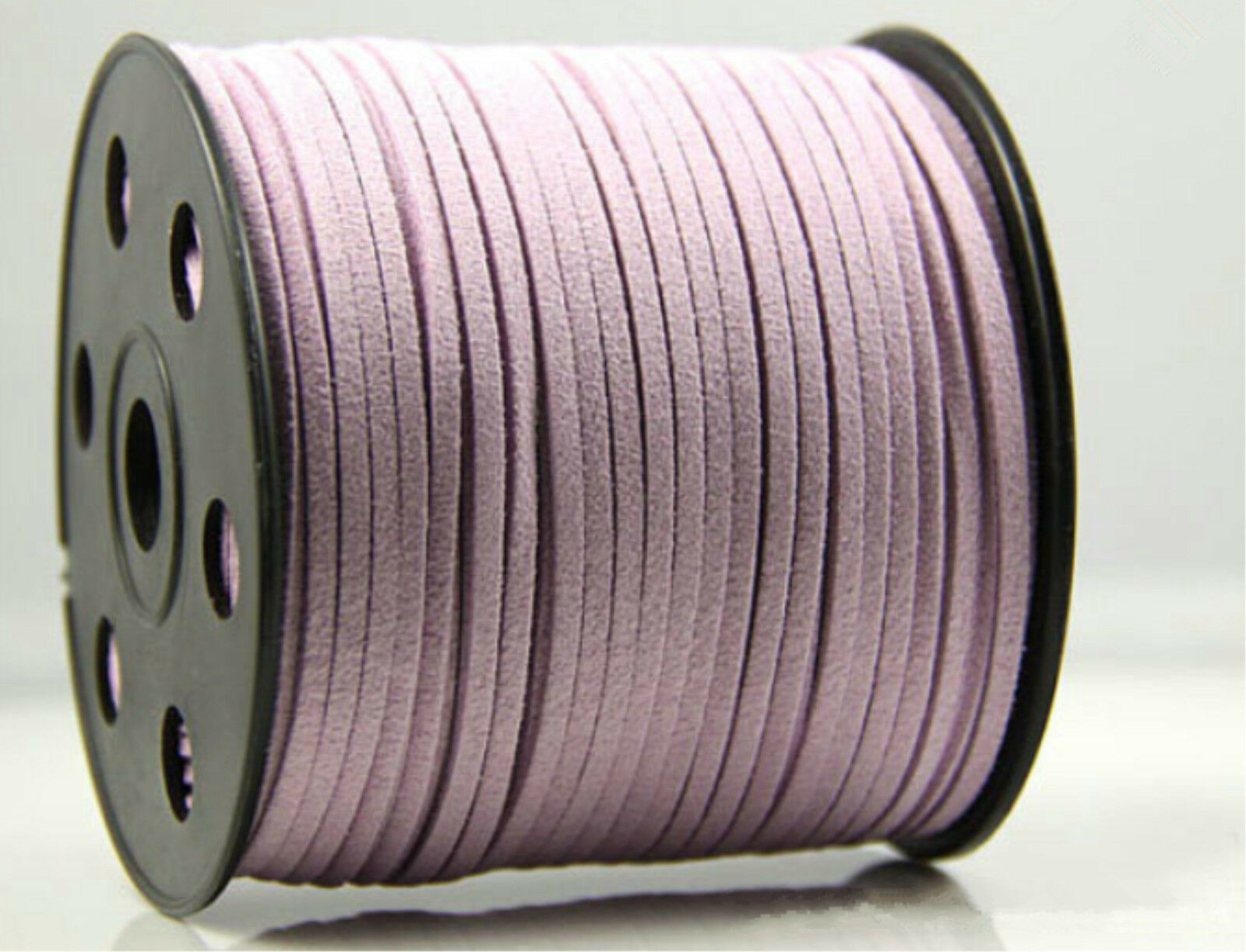 Wholesale 10 100yd 3mm Suede Leather String Jewelry Making