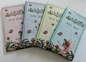 2-x-Fairyland-Note-Book-Enchanted-Garden-Fairies-Hard-Cover-15-x-8-cm