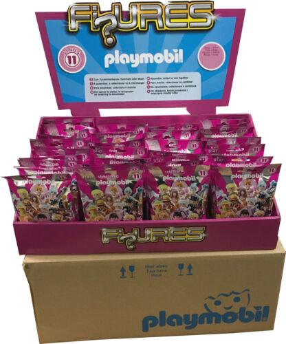 PLAYMOBIL 9147 Serie 11 Chicas Caja Completa Precintada 48 Sobres