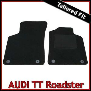 Audi-TT-Roadster-Mk1-1999-2006-Tailored-Fitted-Carpet-Car-Floor-Mats-BLACK