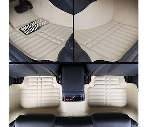 Image Is Loading Floor Mats Car Front Rear Interior Mat Beige