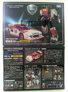 Transformers Takara 6 Inch Action Figure Masterpiece Series Exhaust MP-23