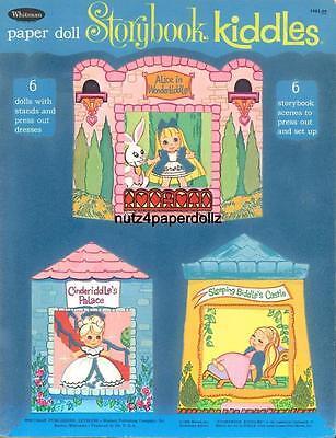 VINTGE 1969 LIDDLE KIDDLES STORY PAPER DOLL ~WHITMAN~RARE UNCUT LASR REPRODCTION