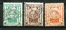 Nederland  141 - 143 gebruikt (2)