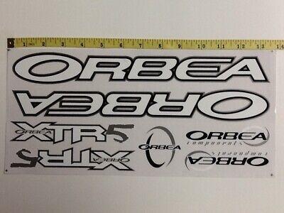 Black /& Green. ORBEA Stickers Set White