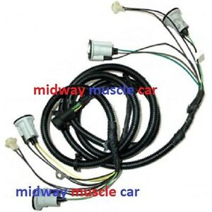 rear body tail light lamp wiring harness chevy gmc pickup truck 73 74 -84 |  ebay  ebay