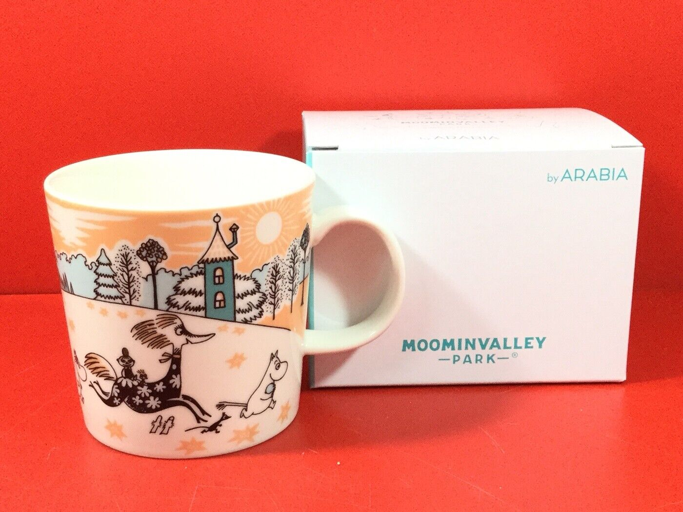 Moomin Valley Park Arabia Moomin Mug 1 Piece Limited F S du Japon