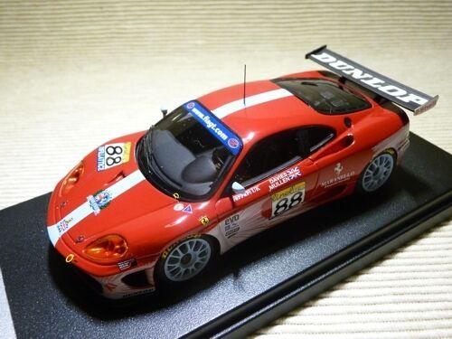 FERRARI 360 N GT TEAM MARANELLO CONC. FIA GT MAGNY COURS 2003 AUTO BARN AB306