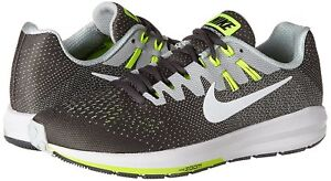 Men-039-s-Nike-Air-Zoom-Structure-20-Running-Shoes-849576-007-Sizes-8-10-Grey-Wh
