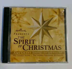 Hallmark The Spirit Of Christmas Cd Amy Grant Vince Gill London Voices New | eBay