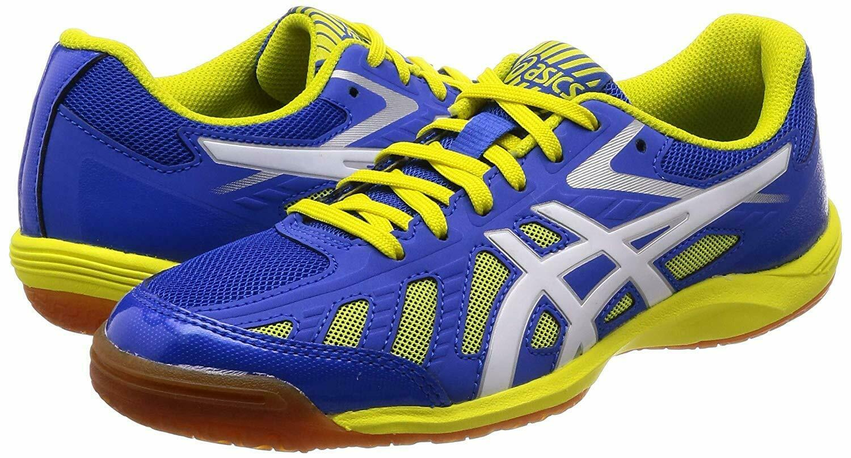 Asics Japón ataque hyperbeat SP 3 Zapatos tenis de mesa 1073A004 Azul Amarillo