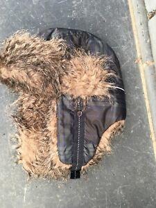 Waterproof Gift Fur Lined New Mountain Horse Junior Trapper Hat Ear Warmers