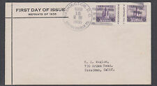 US Mel 766-35 FDC.1935 3c Century of Progress Special Printing, Davenport cachet