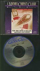 TOP-TEN-WITH-A-BULLET-1987-USA-MOTOWN-CD-Stevie-Wonder-Diana-Ross-Marvin-Gaye