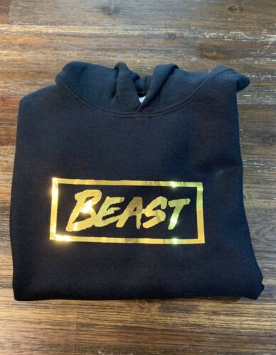Mr Beast Beast Hoodie Youth Large