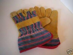 Corvus Kinder  Bauarbeiterhan<wbr/>dschuhe Handschuhe Gr 7