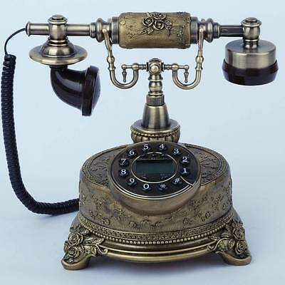 * New Fashion European Style Resin  Retro Antique Three-dimensional Telephone.