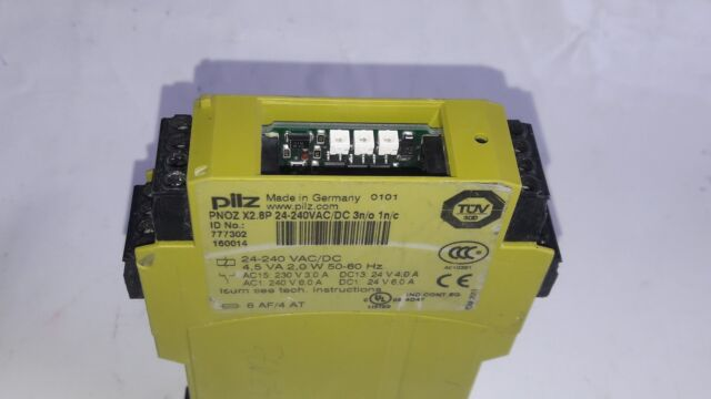 Pilz Relay Pnoz X2.8P  Safety Relay