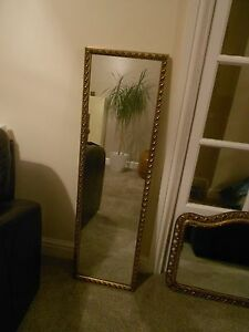 Vintage-Mirror-45-x-13-inches-one-of-two-listed