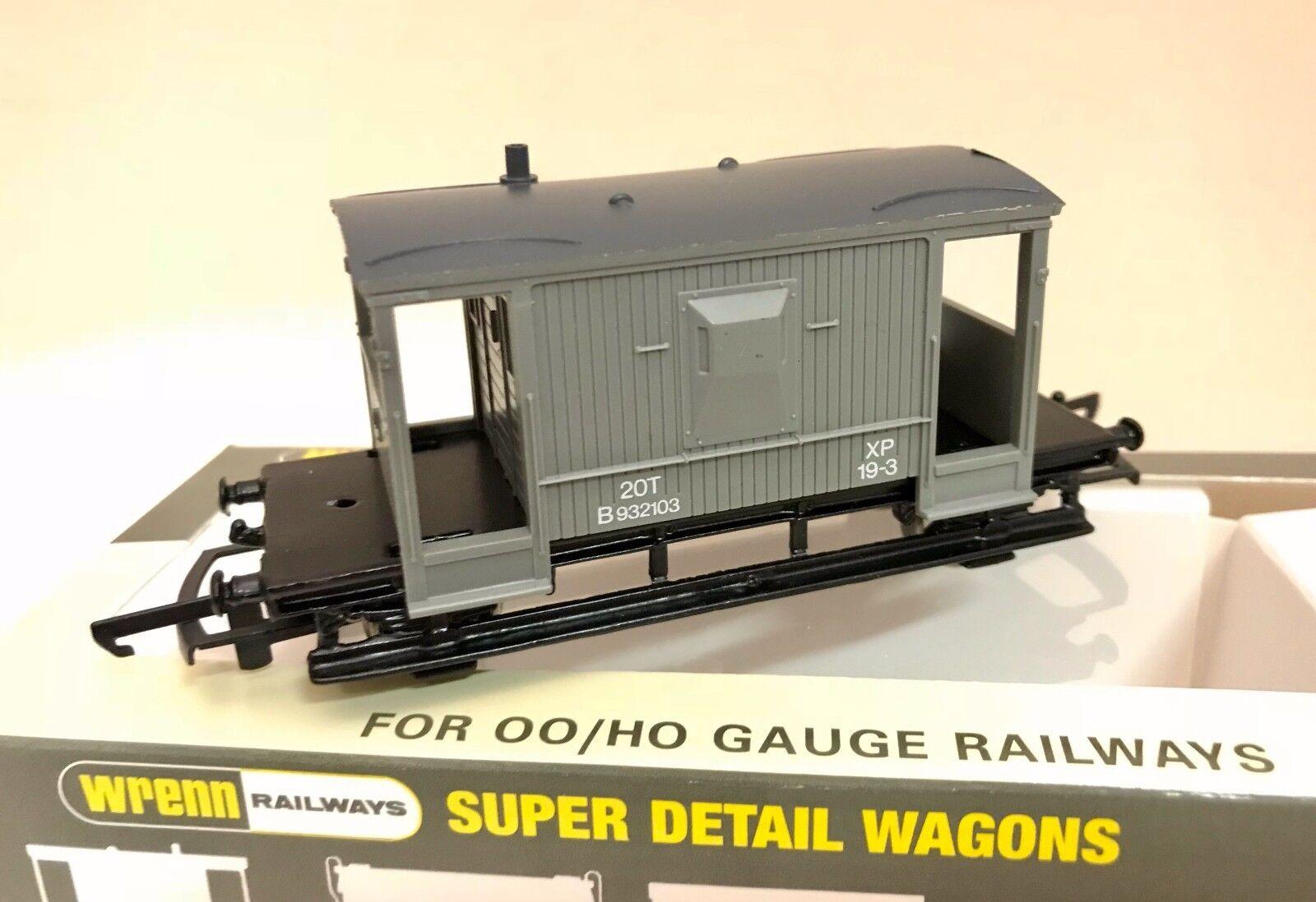 WRENN W5099A B.R.grau LWB Brake Van - Brand New - Boxed
