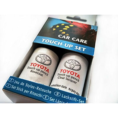 TOYOTA Genuine Touch-Up Paint Set Silver 1F7