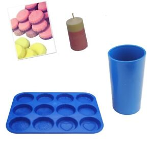 Votive Candle Molds Set of 12