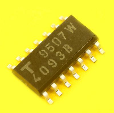 5 x CD4093BM96 CD4093 4093 IC SMD NAND SCHMITT TRIGGER FREE SHIPPING