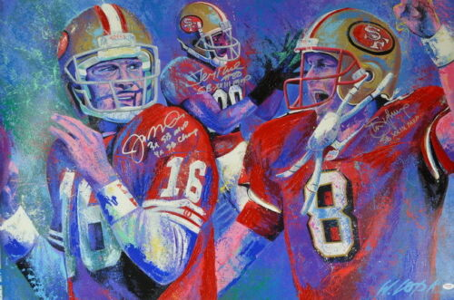 "Joe Cool The Comeback Kid American Football 36/""x24/"" Poster 015 JOE MONTANA"