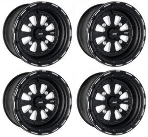 Dwt 15 Quot Sector El Arco Beadlock Wheels Rims 15x8 Front
