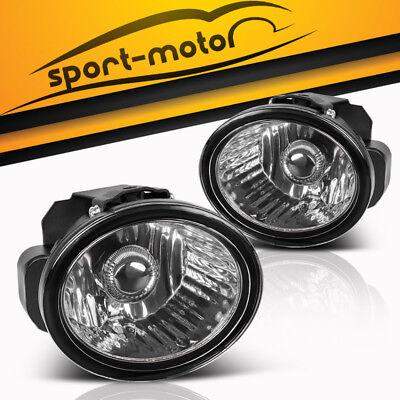 for 02-04 Nissan Altima//03-05 Murano Infiniti Bumper Fog Light Lamp Complete Kit
