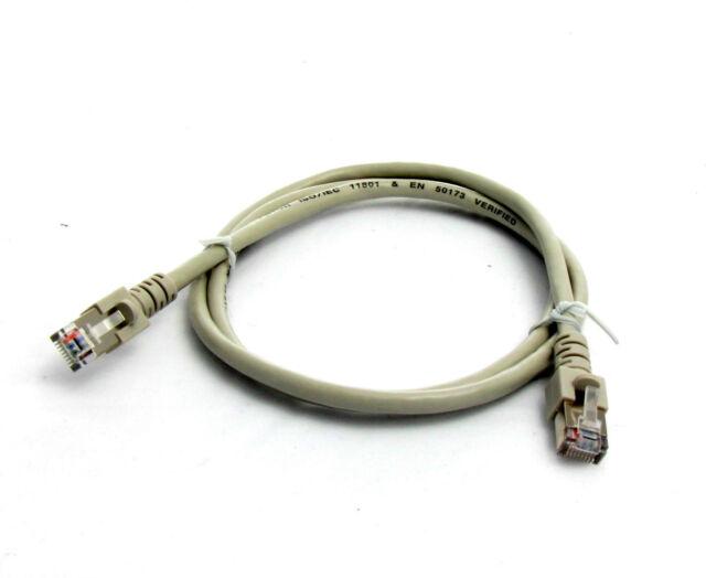 (1,99€/m) 1m RJ45 Patchkabel GRAU Netzwerkkabel Ethernet U/UTP Cat.5E Lankabel