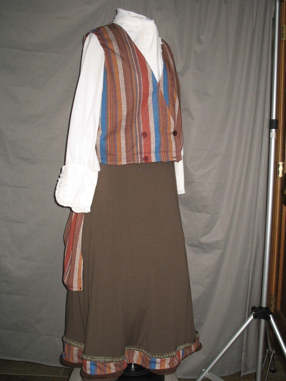 Victorian Dress Edwardian Costume Civil War Style… - image 4