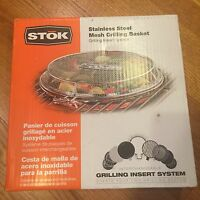 In Box Stok Stainless Steel Grill Basket