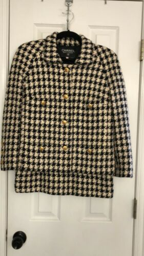 Chanel Suit-Vintage Rare Houndstooth-40