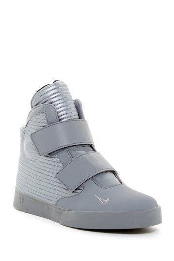 Nike Men's Flystepper 2K3 HighTop Sneakers Size 11.5 Metallic Grey