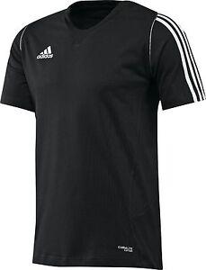 adidas-Maenner-Trainings-T-shirt-schwarz-Herren-Laufshirt-Sportshirt-Gr-XS-2XL