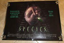 SPECIES  movie poster NATASHA HENSTRIDGE original UK quad poster