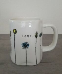 NEW-RAE-DUNN-By-Magenta-HOME-Flowers-Coffee-Tea-Mug-Farmhouse-Summer-Home-Decor