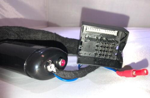 VW Amarok Beetle eos Plug /& play high-low ADAPTADOR Adaptador altavoces en cinch