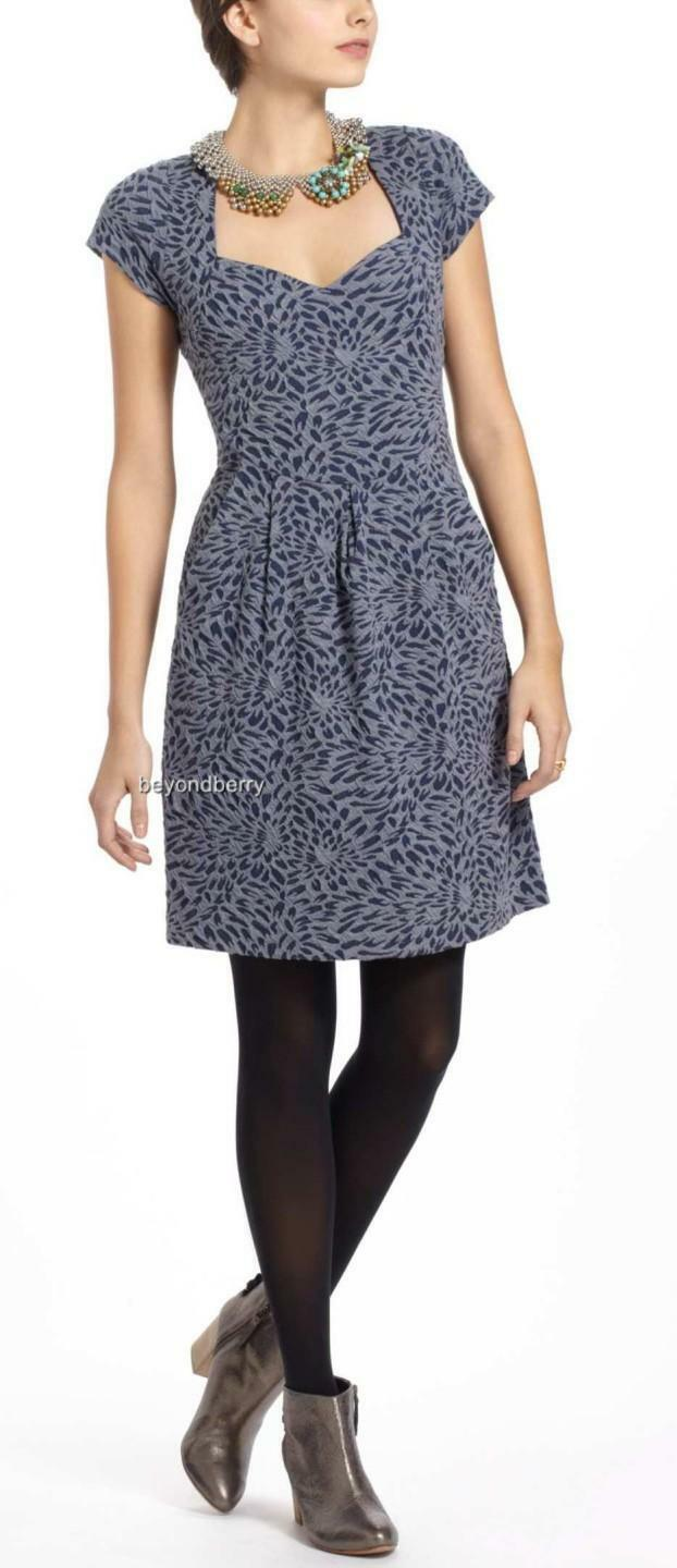 NEW Anthropologie Caledonia Cutout Dress by Deletta  Size XS-S-M