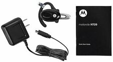 Motorola H720 Bluetooth Ear-Hook Headset - Black - Genuine Motorola -Brand New