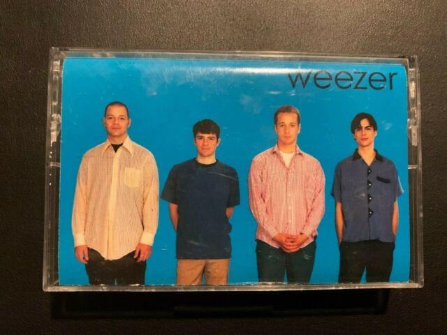 Vintage Weezer Self Titled Blue Album Cassette RARE