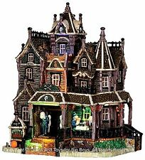 Lemax 35550 CREEPY'S BED & BREAKFAST Spooky Town Building Halloween Decor New I
