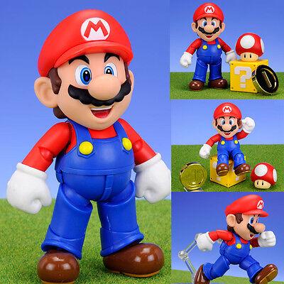 S.H.Figuarts Mario from Super Mario Brothers Nintendo Action Figure Bandai Japan