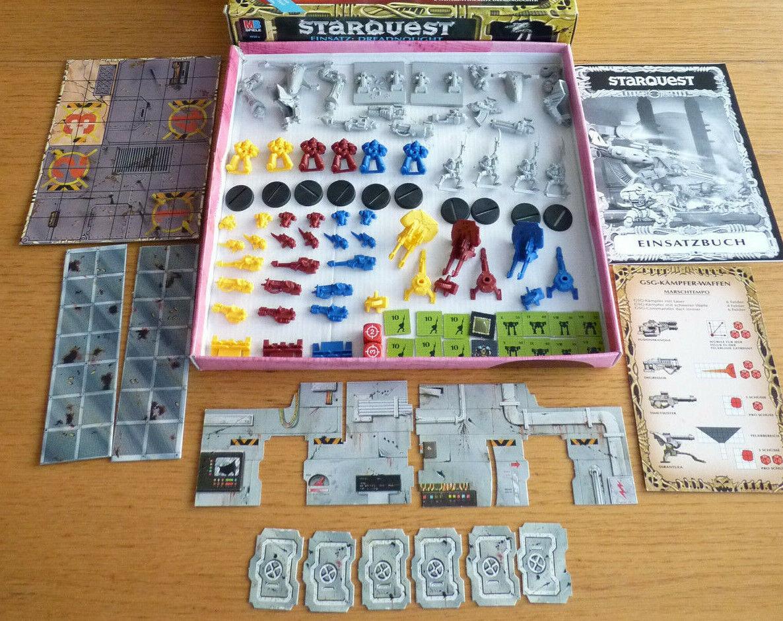 StarQuest  Space Crusade Erweiterung Dreadnought, 100% komplett, ohne OVP ( 4)
