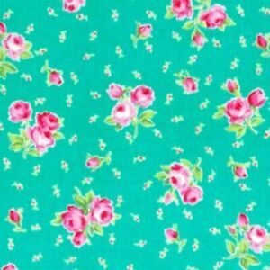 Cottage-Shabby-Chic-Lecien-Flower-Sugar-Floral-Bouquet-amp-Tiny-buds-30969L-60-BTY